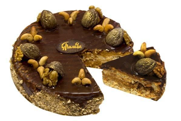 Торт ореховый по королевски от палыча